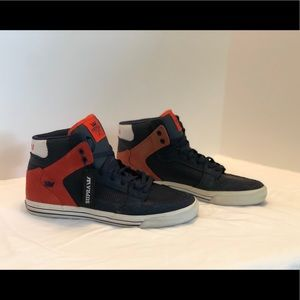 SUPRA FTWR CO Top-Shoes US 10.5 Size. Pre-owned.